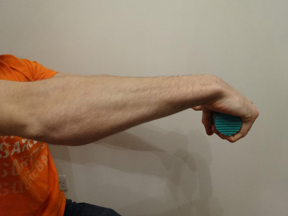 Ротация Thera-bar 2 - вид сбоку
