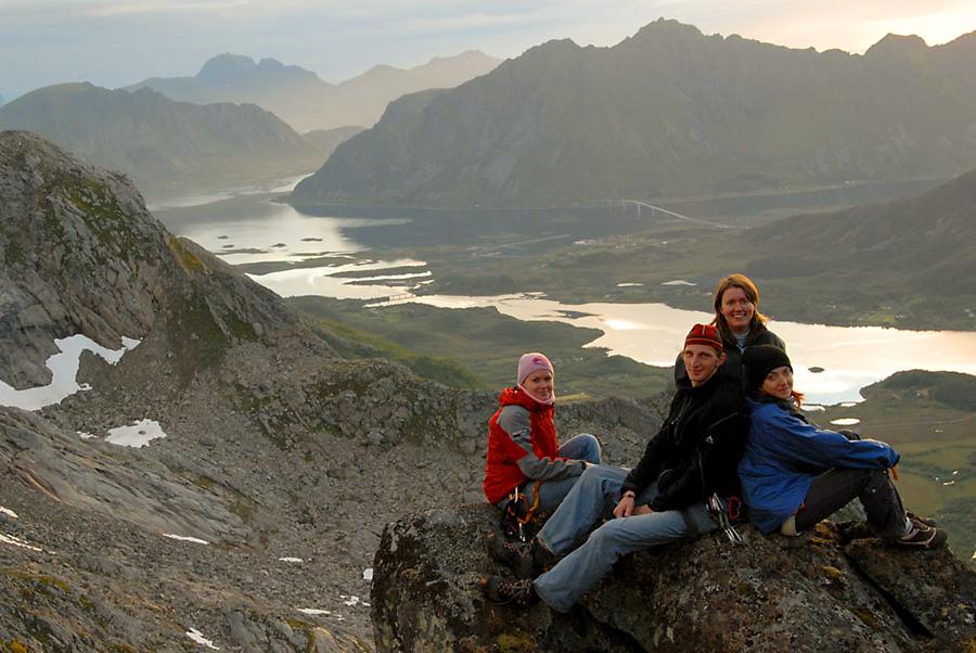 Лофонтены. Норвегия. Наверно, самое удивительное место, где нам удалось побывать.