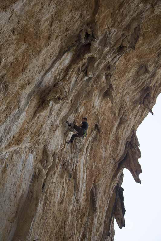 Datça, Датча, climbing, скалолазание, турция,Turkey, Дачка, 7c в правой части сектора
