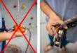 правила техники безопасности на скалодроме