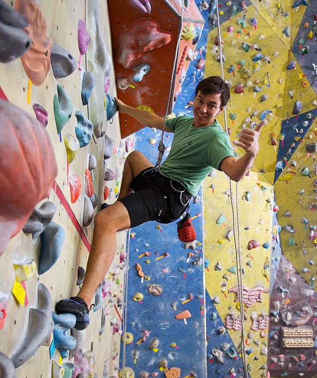 Школа скалолазания, обучение, скала сити, climbing